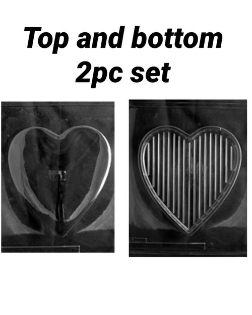 POUR HEART-PLAIN HEART set
