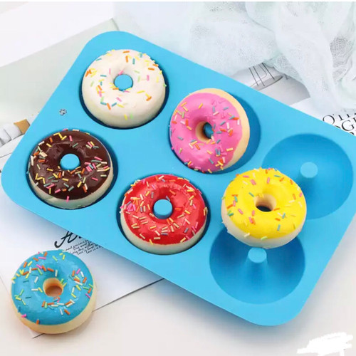 Donuts Round Silcione Mold