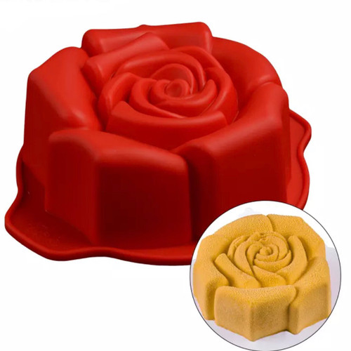 Rose   Chocolate /Cake Mold (XXL)