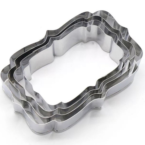 Plaque Cookie cutter Set (5)