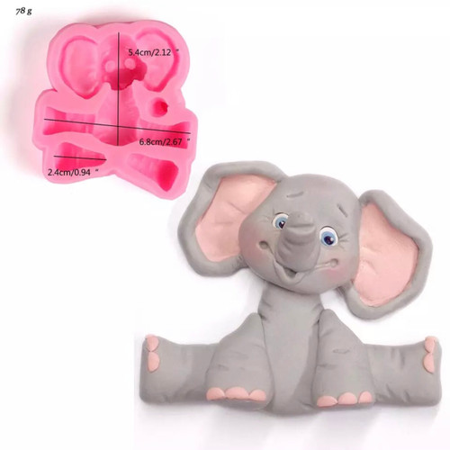 Elephant  Mold PM493