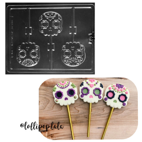 Day of the Dead Skull Lollies