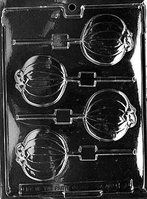 PLAIN PUMPKIN LOLLY -318