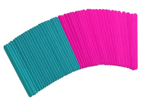 Fashion-Dyed Craft Sticks 50pc Asst  Glam *not restocking
