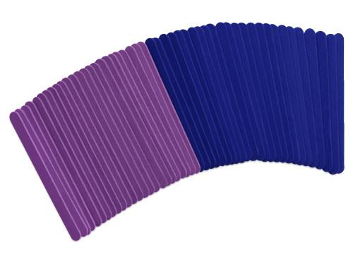 Fashion-Dyed Craft Sticks 50pc Asst  Viola *not restocking