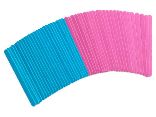 Fashion-Dyed Craft Sticks 50pc Asst  baby *not restocking