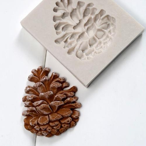 Pinecone silicone mold  - se40