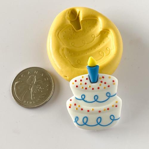 Birthday Cake Silicone Mold
