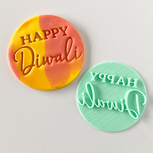 Happy Diwali   Fondant /Cookie Embosser