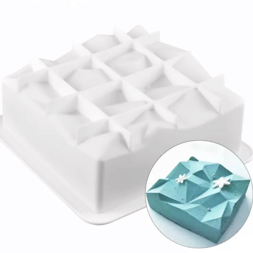 Fancy Square  BREAKBLE MOLD