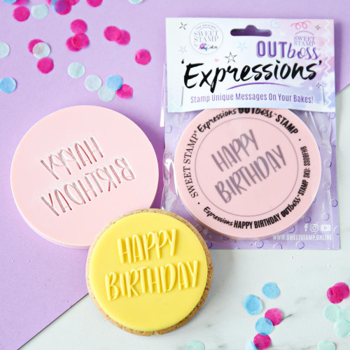 OUTBOSS EXPRESSIONS - FUN HAPPY BIRTHDAY