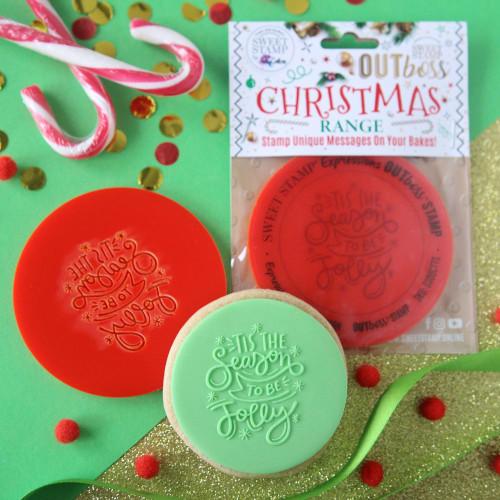 OUTBOSS CHRISTMAS -TIS THE SEASON BANNER