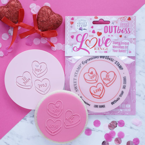 CUTE LOVE HEARTS  OUTBOSS EXPRESSIONS
