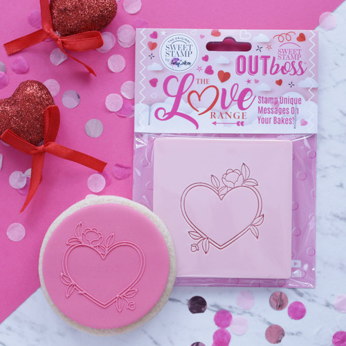 HEART FLORAL FRAME - OUTBOSS EXPRESSIONS