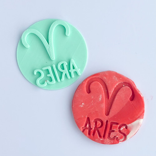 Aries Fondant /Cookie Embosser