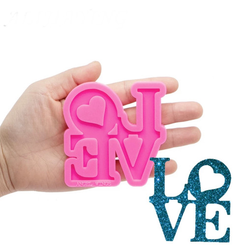 Love stacked Silicone mold