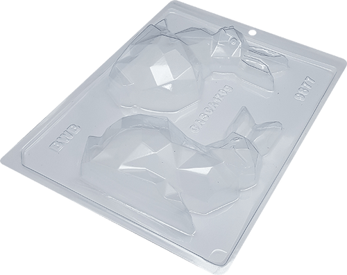 Bunny Diamond Large  -3part Mold