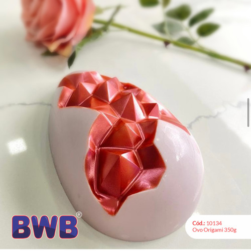 Coming Soon Egg Geometric  - 3 part Mold