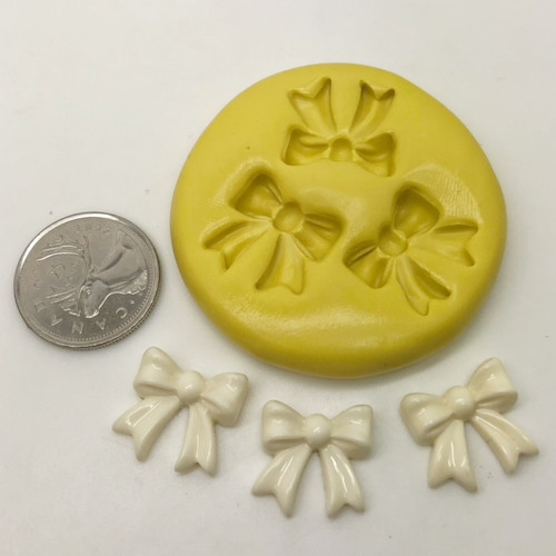 Cute Bow Mold Set silicone