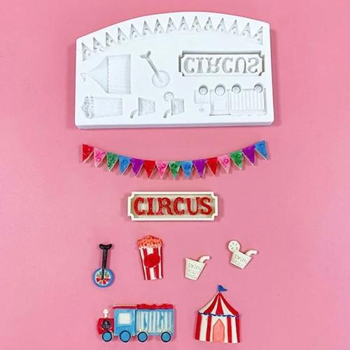 Circus  Mold Silicone  (set 1) PM524