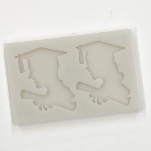 Graduation Silhouette Silicone mold PM558