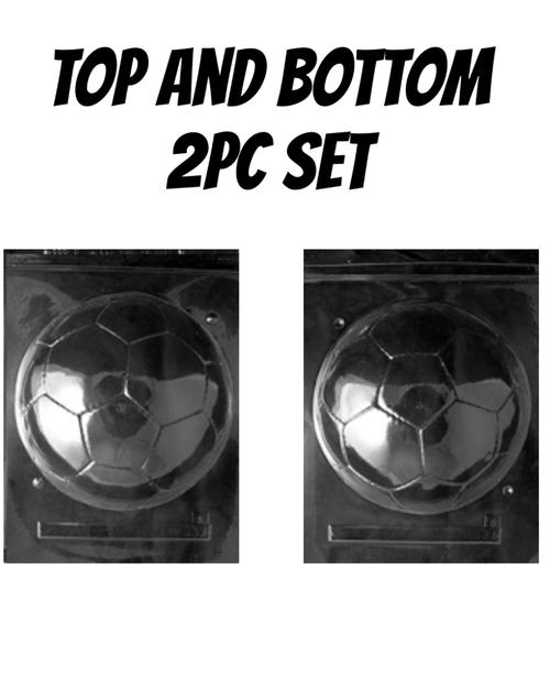 SOCCER BALL  - 2PC SET BOTTOM and TOP
