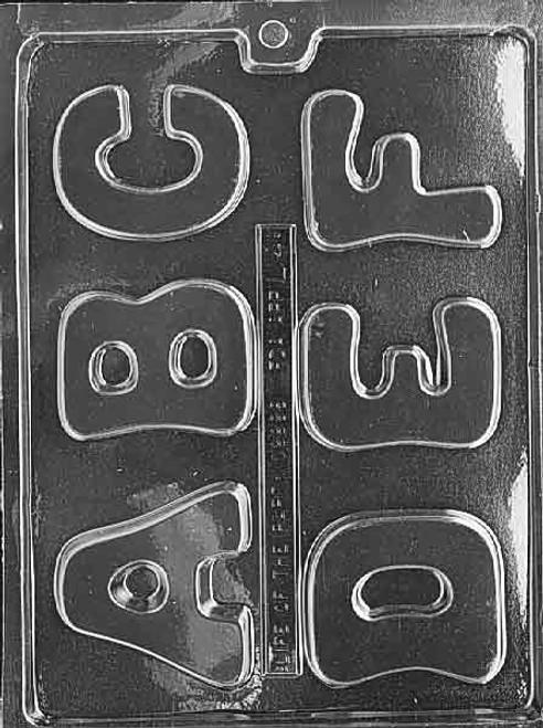 Alphabet Set A-FLarge  #242