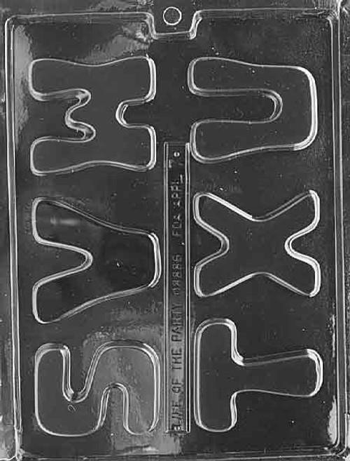 Alphabet Set S-U Large  #242C