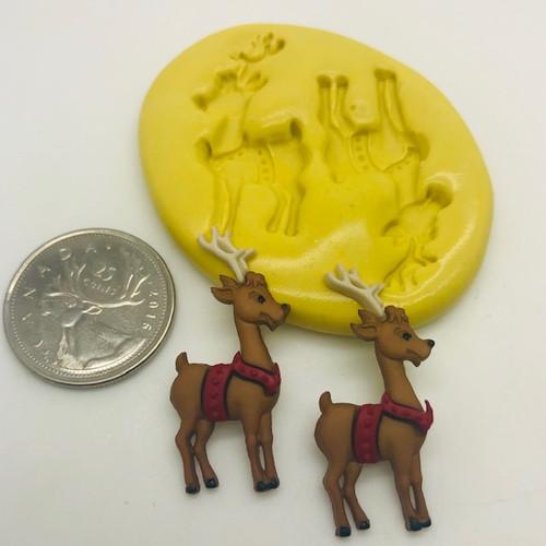 Reindeer #2 Mold Set silicone