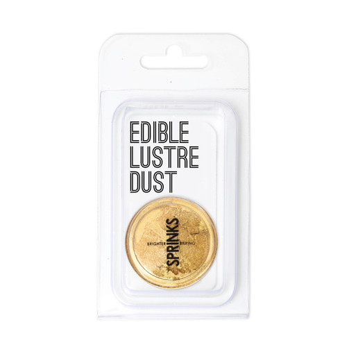 BRIGHT GOLD LUSTRE DUST (10ML) - SPRINKS