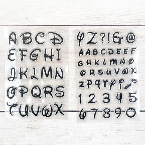 Walt Upper and Lower Case set Stamps