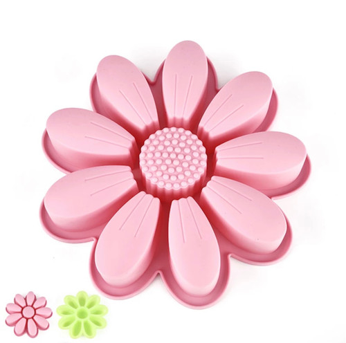 Daisy  Silicone Mold  (not one piece)
