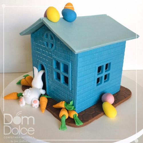 3D House - 1 part Mold