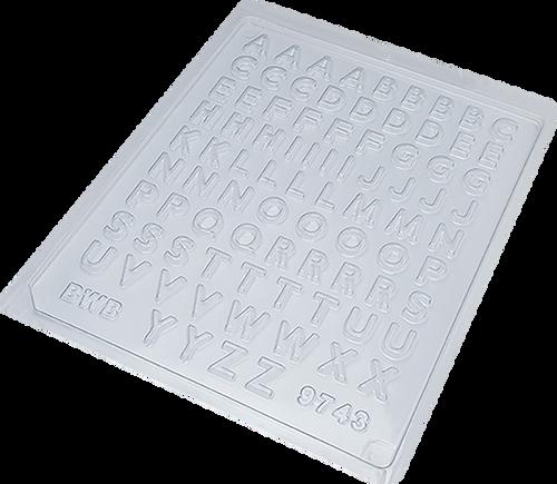 mini alphabet   - 1 part Mold