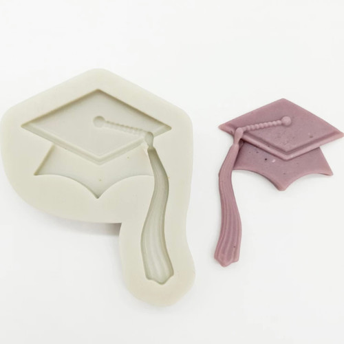 Graduation Hat long tassle  Mold PM561