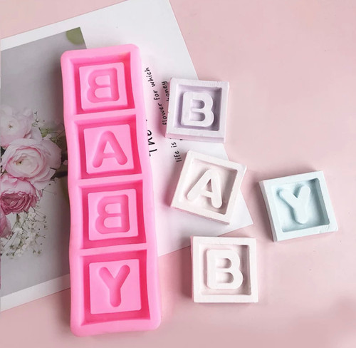 BABY Block letter  Mold