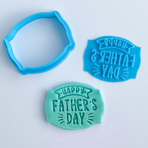 Happy Fathers Day  Stamp and Cutter Set