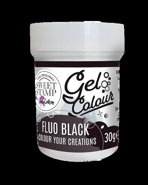 FLOU BLACK - SWEET STAMP GEL COLOUR 30G