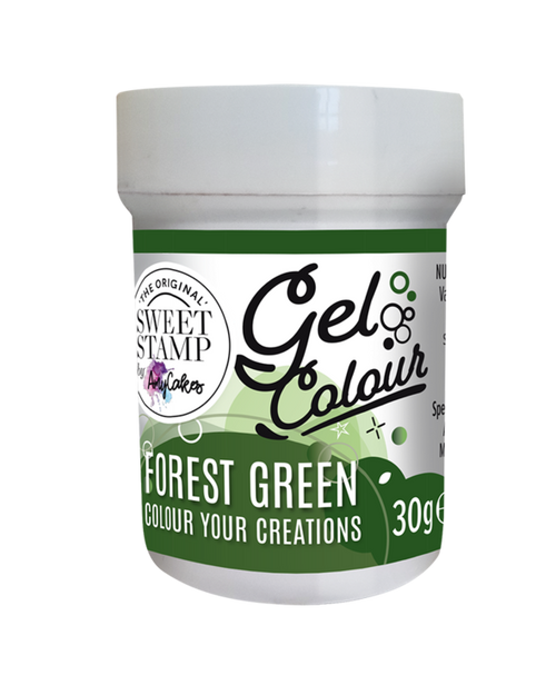 FOREST GREEN - SWEET STAMP GEL COLOUR 30G