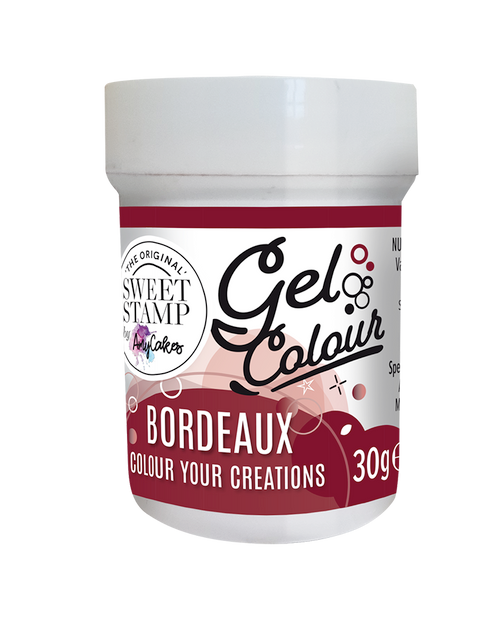 BORDEAUX - SWEET STAMP GEL COLOUR 30G