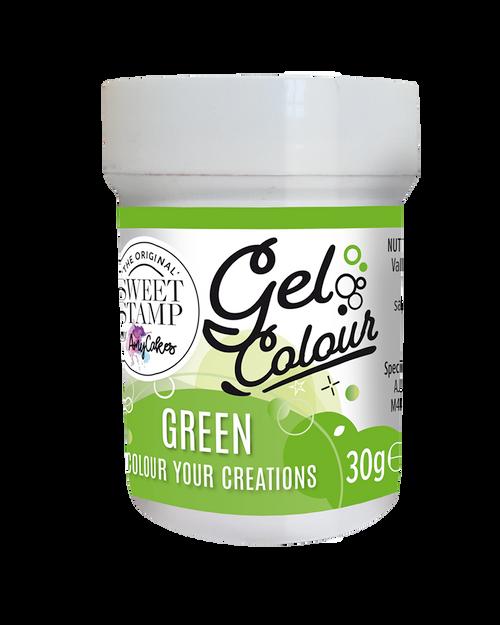 GREEN - SWEET STAMP GEL COLOUR 30G