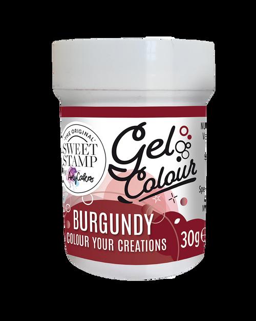 BURGUNDY - SWEET STAMP GEL COLOUR 30G