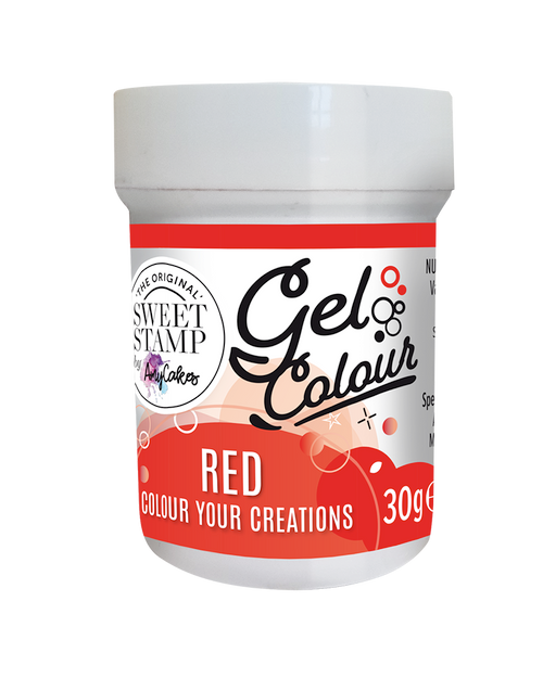 RED - SWEET STAMP GEL COLOUR 30G