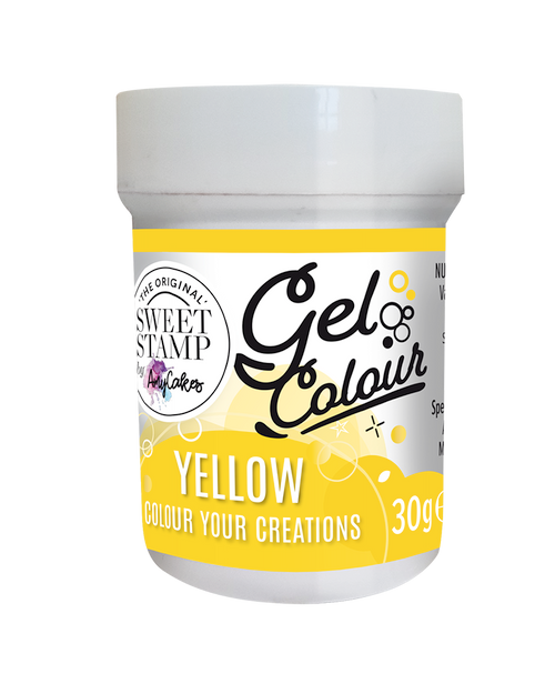 YELLOW - SWEET STAMP GEL COLOUR 30G