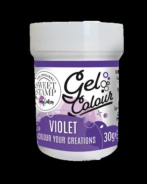 VIOLET - SWEET STAMP GEL COLOUR 30G