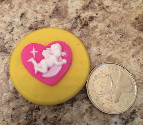 Xs Cupid Angel with Heart Mold silicone