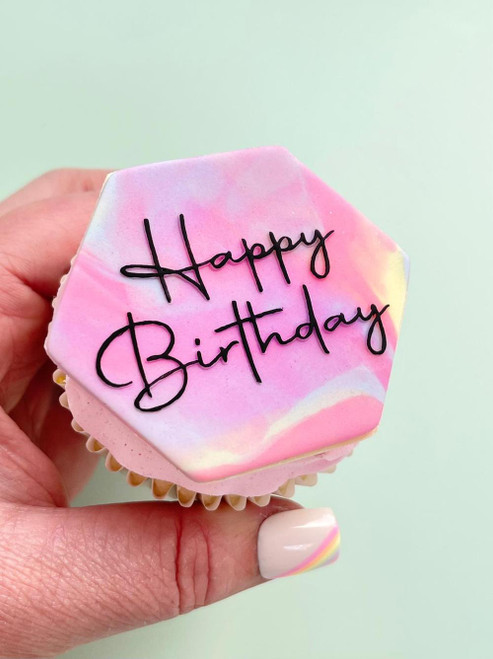 OUTBOSS/WISH UPON A CUPCAKE - HAPPY BIRTHDAY