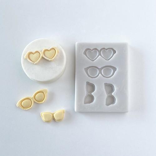 Sunglasses small  silicone mold