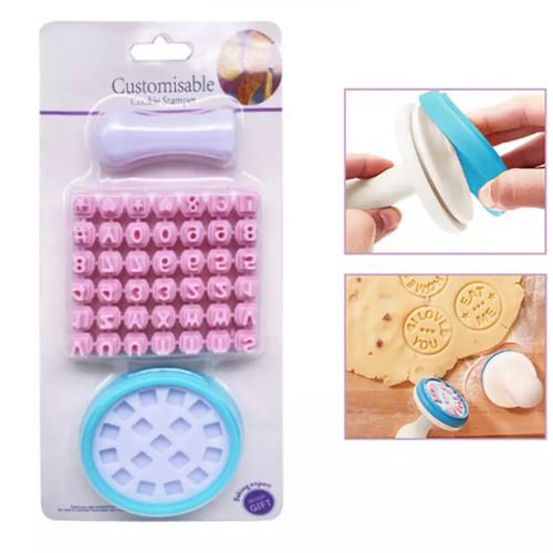 Cookie  Alphabet Embosser Set