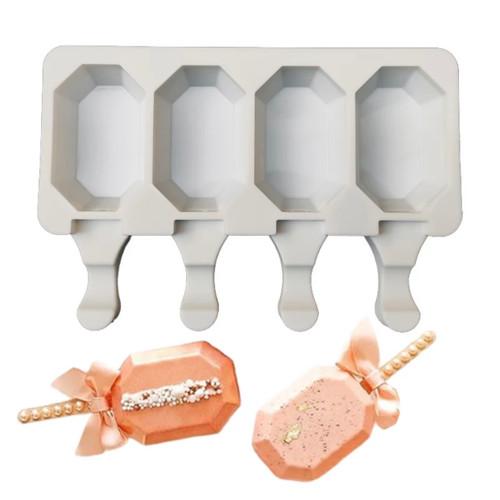 Mini HEXAGON cakesicle silicone Mold